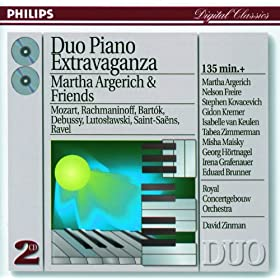 Duo Piano Extravaganza - Martha Argerich & Friends (2 CDs)