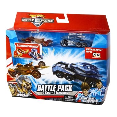 Buy Low Price Mattel Battle Force 5: Battle Pack, Sherman and Spinner Cotez and Captain Kalus with Buster Tank and Fangore Figure (B002QHA852)