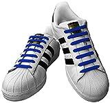 Kicks Tieless Elastic Silicone No Tie Shoelaces