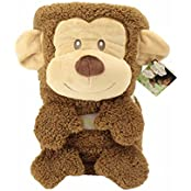 My Pet Blankie Grand Plush, Monkey