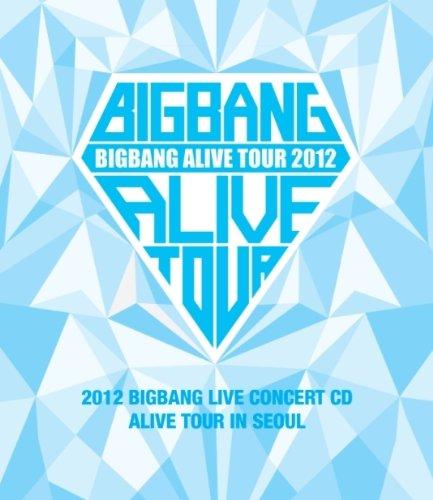 BIGBANG - 2012 BIGBANG Live Concert CD [Alive Tour in Seoul] (韓国盤)