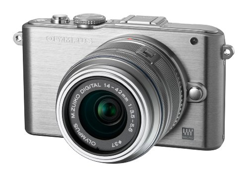 Olympus E-PL3 Compact System Camera with M.ZUIKO Digital 14 -42mm II R Lens - Silver