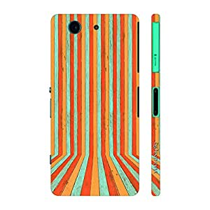 Enthopia Designer Hardshell Case Colours To You Back Cover for Sony Xperia Z4 Mini
