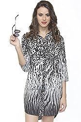 Divaat Flirting With The Wild Shirt Dress