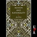 Reason and Rationality | Jon Elster