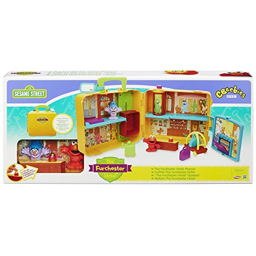 Sesame street the furchester hotel playskool playset at for Playskool kitchen set