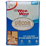 Four Paws Wee-Wee Pads - Tile Decor - 10 Count