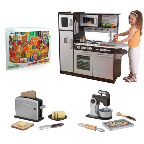 Kidkraft Uptown Espresso Kitchen Set