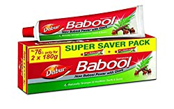 Dabur Babool - 180 g (Pack of 2)