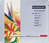 STAEDTLER カラト アクェレル125 水彩色鉛筆 24色セット 125-M24