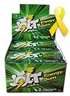 Jolt Spearmint Energy Gum- Yellow Rib…