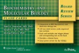 img - for BRS Biochemistry and Molecular Biology Flash Cards, Revised (Board Review Series) book / textbook / text book