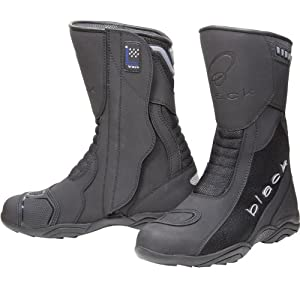 Black Oxygen Elite Motorcycle Boots 41 Black (UK7)