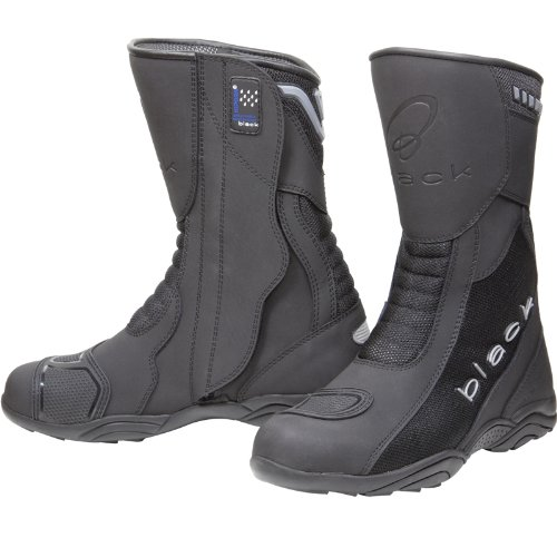 Black Oxygen Elite Motorcycle Boots 44 Black (UK10)