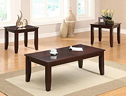 Brand New 3-pk Vincent Coffee Table and End Tables Cocktail set