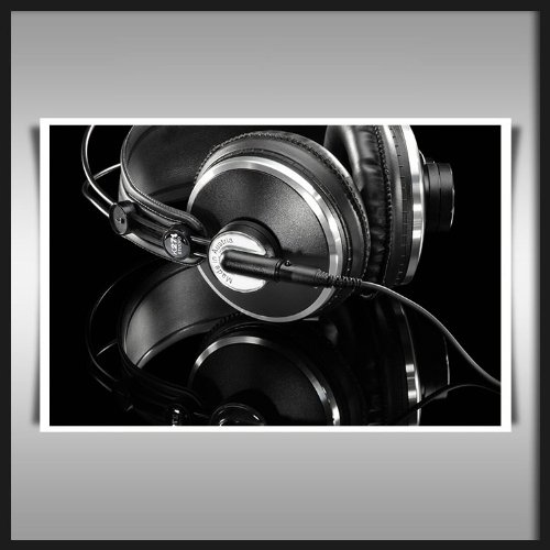 Akg K271 Headphones Huge A1 Canvas Art Print 90X60Cms 36X24 Inch Modern Office Wall Poster