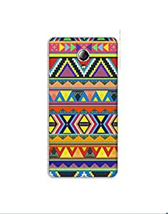 LENOVO P1 M nkt02 (66) Mobile Case by Mott2 - Different Color Tribal Pattern (Limited Time Offers,Please Check the Details Below)