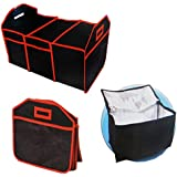 Collapsible EZ Trunk Organizer and Cooler Deluxe