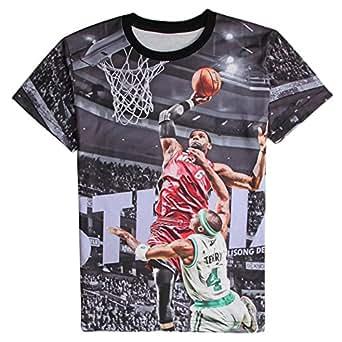 T shirt 3d print lebron james shooting for Lebron shirts for sale