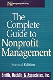 img - for The Complete Guide to Nonprofit Management book / textbook / text book