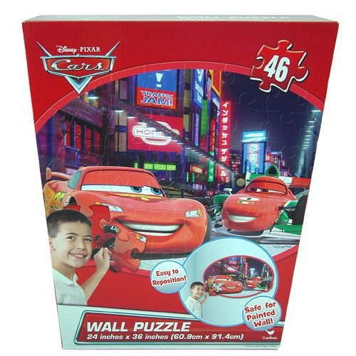 Cars 46 Pc Wall Puzzle in Box