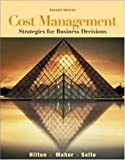 img - for Cost Management: Strategies for Business Decisions with PowerWeb Package book / textbook / text book