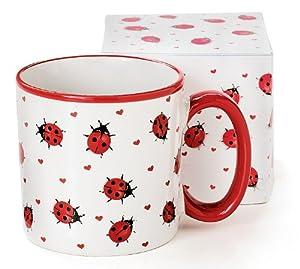 Adorable Ladybug Coffee Mug Inexpensive Gift Item by Ladybug Collection