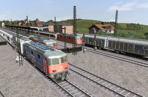 Train Simulator 2015: AddOn Railworks 3 SBB Route 1  galerija