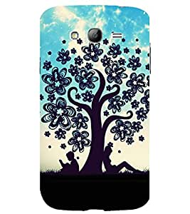 printtech Couple Love Tree Back Case Cover for Samsung Galaxy Grand Neo Plus / Samsung Galaxy Grand Neo Plus i9060i