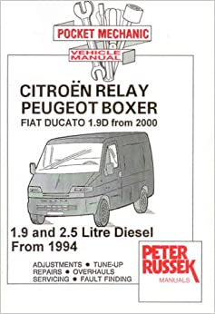 Citroen Relay, Peugeot Boxer, Fiat Ducato 1.9D from 2000: 1.9 and 2.5