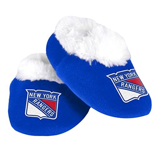 NHL New York Rangers Baby Bootie Slippers (New York Rangers For Baby compare prices)