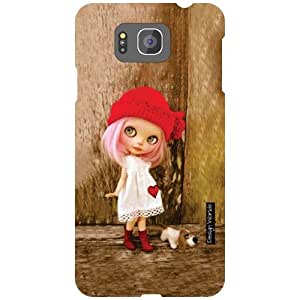 Design Worlds Samsung Galaxy Alpha G850 Back Cover - Doll Designer Case and Covers