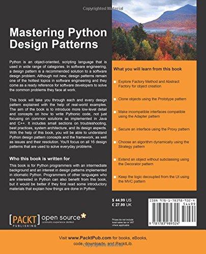 Design Patterns In Python Amazon