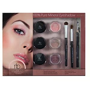 Naturale Beauty Mineral Eyeshadow Set, Expert Eyes Edition
