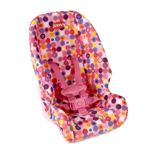 Joovy Doll Or Stuffed Toy Booster Seat Dot Pink