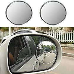 AutoStuff 2 X Blind Spot Mirrors 50mm Wide Angle Convex Mirrors 2 Inch