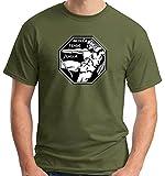 T-Shirtshock Polo Donna Nera T0857 Sesto STORMO Militari