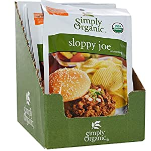Simply Organic Certified Organic Sloppy Joe Seasoning Mix