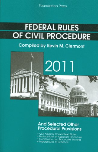 Federal Rules of Civil Procedure and Selected Other...