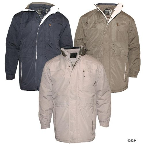 Mens Magneto Warm Autumn Winter Car Coat P6 Size XXL - Double Extra Large