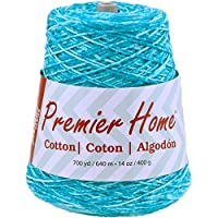 Premier Yarns Multi-Cone Home Cotton Yarn, Ocean Splash