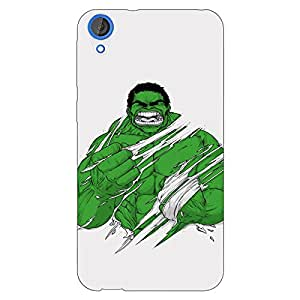 Jugaaduu Superheroes Hulk Back Cover Case For HTC Desire 820Q