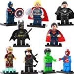 Super Heroes Minifigures Mixed - (Set...