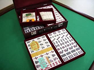 『本特級重量牌』麻雀牌マージャンパイ【鳳凰】普通サイズ定価¥26000ケース付き