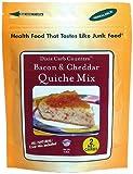 51TiJuoyYGL. SL160  Dixie Carb Counters Bacon & Cheddar Quiche Mix