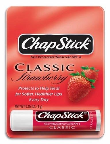 ChapStick Strawberry 0 15-Ounce Sticks Pack of 24B0000VLX3C