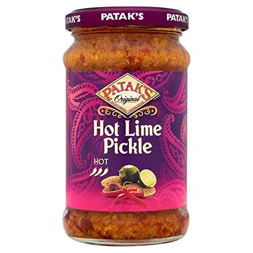 Patak Hot Lime Pickle (283g) - Packung mit 2