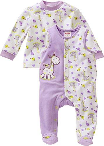 schnizler unisex baby strampler set giraffe 2 tlg mit. Black Bedroom Furniture Sets. Home Design Ideas