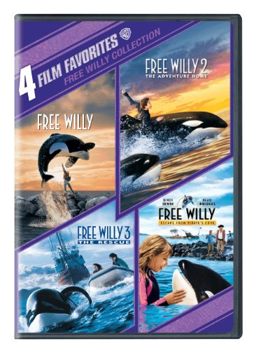 Cover art for  Free Willy Collection: 4 Film Favorites (Free Willy / Free Willy 2 The Adventure Home / Free Willy 3 The Rescue / Free Willy Escape from Pirate's Cove)