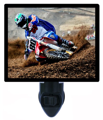 Motocross Night Light - Motorcycle - Dirt Bike Led Night Light